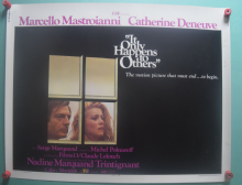 It Only Happens to Others, Original Half Sheet poster, Catherine Deneuve, '71